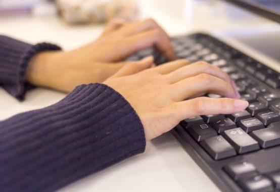 パソコン操作イメージ